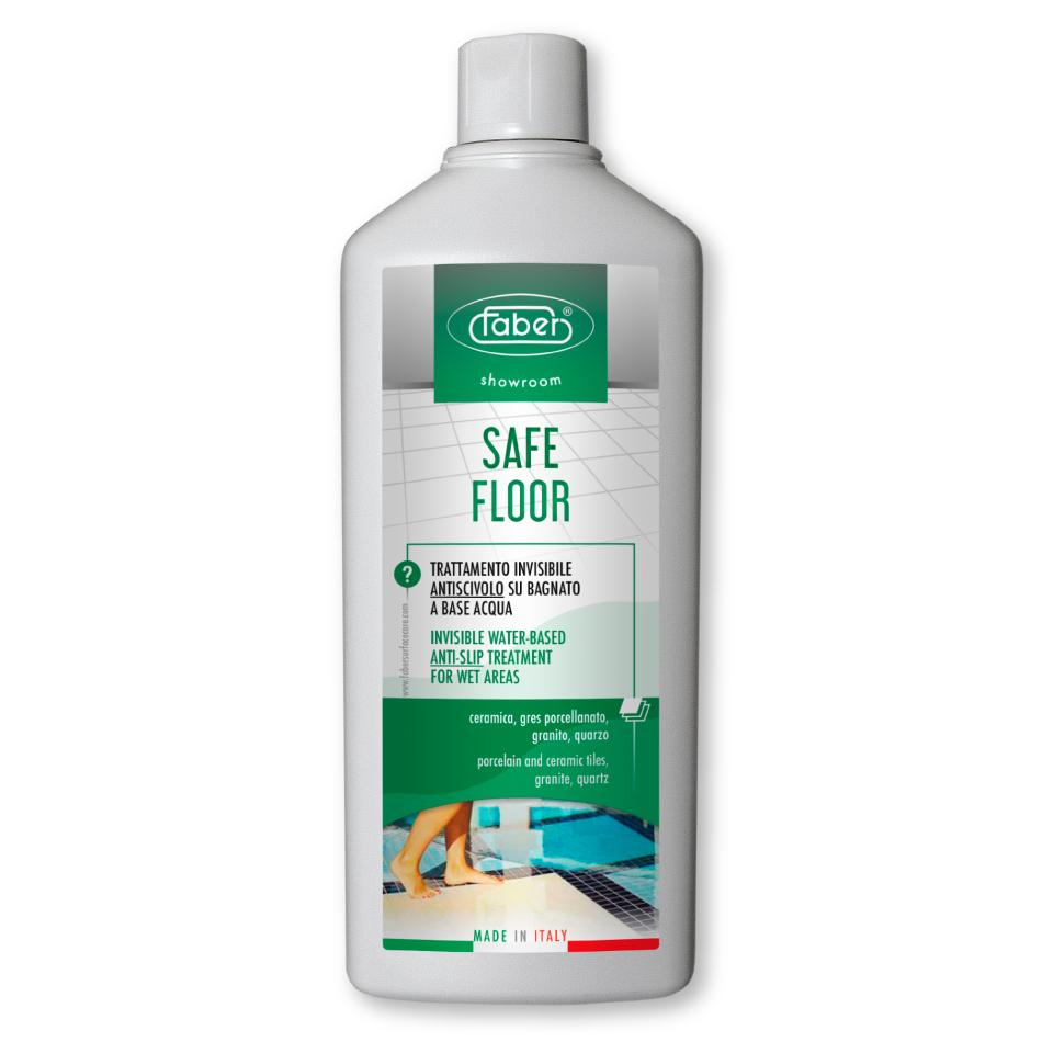 SAFE FLOOR – Anti-slip treatment for tiles, ceramic and porcelain