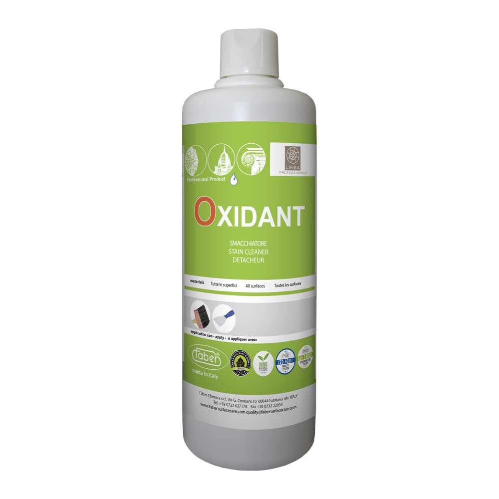 Oxidant Stain Remover To Extract Stains Such As Tannin