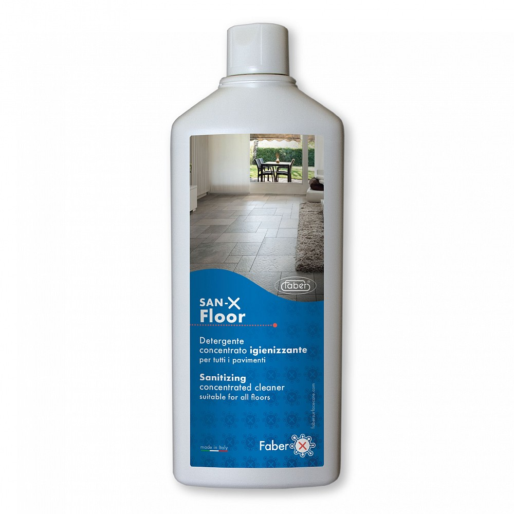 ideal product to sanitize porcelain tiles and all floors