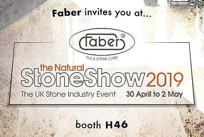 London calling - Faber @ the Natural Stone Show 2019